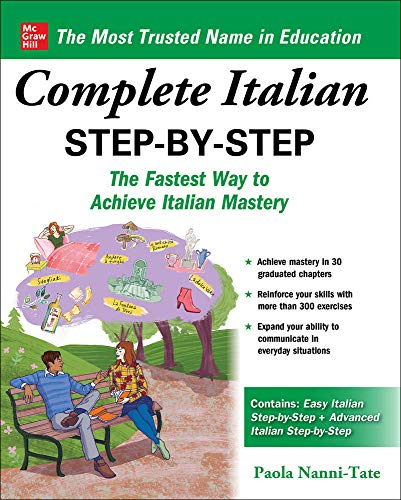 Compare Textbook Prices for Complete Italian Step-by-Step 1 Edition ISBN 9781260463231 by Nanni-Tate, Paola