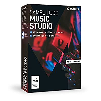 MAGIX Samplitude Music Studio - Version 2019 - the Complete Software Studio For Composing, Recording, Mixing and Mastering by Us Magix Entertainment