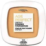 L'Oreal Paris Age Perfect Creamy Powder Foundation Compact, 315 Natural Buff, 0.31 Ounce