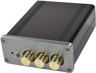 kesoto HiFi Audio Stereo Digital Amplifier Class-D 100Wattx2 2 Channel Gray Tone