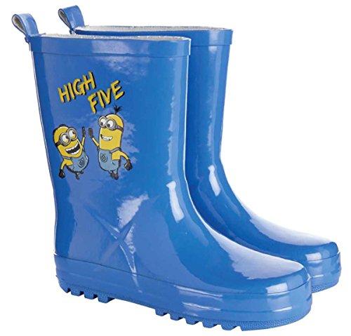 Minions Regenstiefel für Kinder, Jungen, Blau von 25 bis 32, Blau - blau - Größe: 29/30 EU