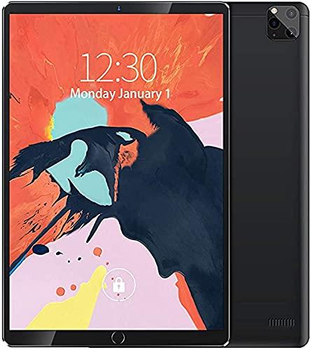 LXMTing Tablet 12'HD Pantalla, Android 8.1 Tablet 8GB RAM + 64GB / 128GB / 256GB ROM, 16MP + Cámara HD de 16MP + 32MP, Bluetooth 4.1, 4G WiFi GPS OTG Ten-Core Procesador, Gris, 64G,Negro,8+128