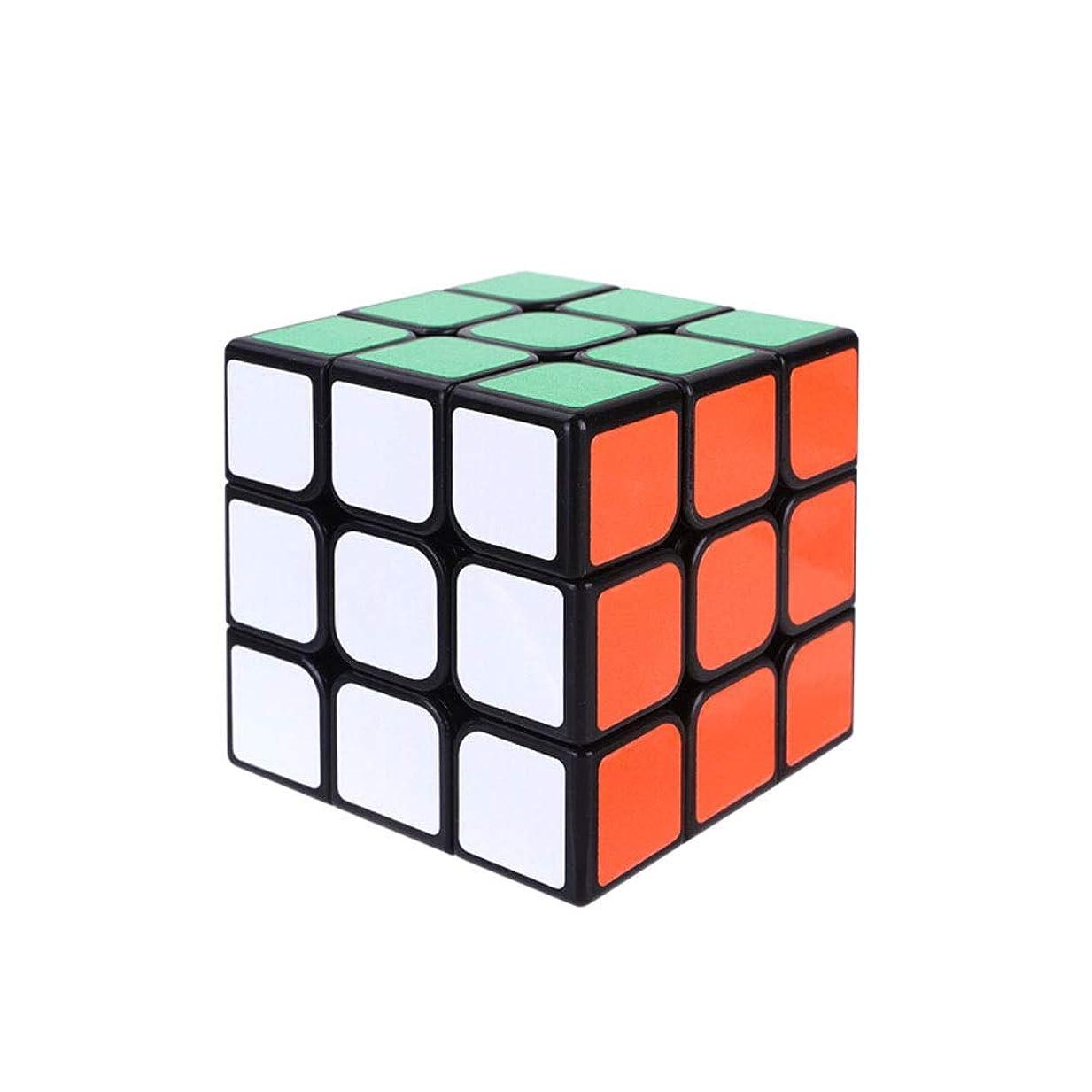 返還慣性頑張るFengshangshanghang 知的ギフト用のマジックキューブとして適したルービックキューブは、一日中遊んで知能を発達させることができる(2次/ 3次/ 4次) 大気ファッション (Edition : Third-order)