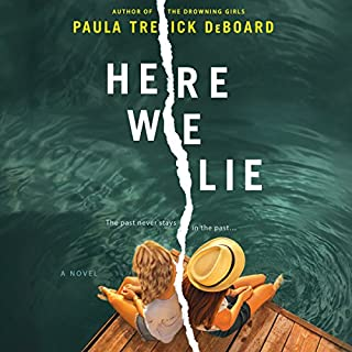 Here We Lie audiobook cover art