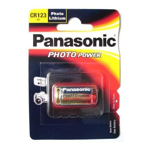 Panasonic piles Photo Lithium CR123A