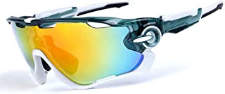LUKEEXIN Rugged Outdoor Sports Sunglasses for Mountain Biking (Size : A003)