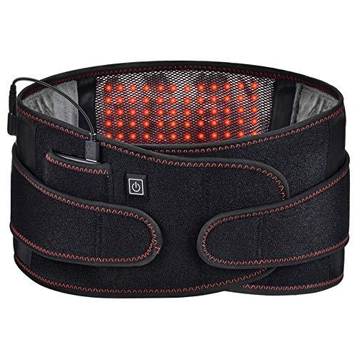 Nlight Cinturón Calefactor Manta Electrica Lumbar para Dolor De Espalda Cinturón para...
