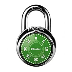 Indoor padlock is best used as a school locker lock and gym lock, providing protection and security from theft Preset three-digit combination lock for keyless convenience Combo lock is constructed with a metal body, stainless-steel cover, hardened st...