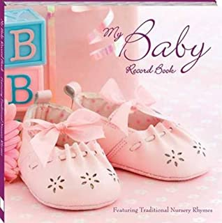 My Baby Record Book Pink