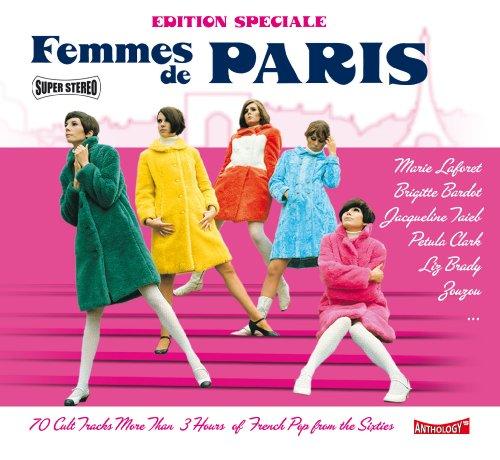 Femmes et Gentlemen de Paris-4 CD Édition Spécial