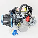 PERFORMANCE CARBURETOR W/FILTER FOR TOMBERLIN CROSSFIRE 150 R 150CC GO KART