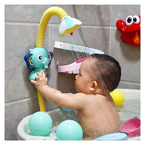 Youpin Elefante eléctrico agua spray juguetes de baño para niños bebé baño...