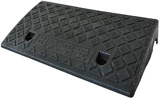 Rampas para escalones, plástico Resbalón antideslizante Rampas para silla de ruedas Scooter de umbrales Rampas