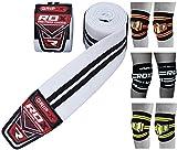 RDX Rodillera Gimnasio rodilla cincha para Levantamiento de pesas   Aprobado por IPL y USPA   Rodilleras Soporte para Powerlifting, Musculación Entrenamiento, Gimnástico, Bodybuilding, Fitness Deporte