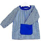 KLOTTZ PONCHO - Babi poncho sin botones guardería. Bata escolar cómoda de vestir perfecta para...