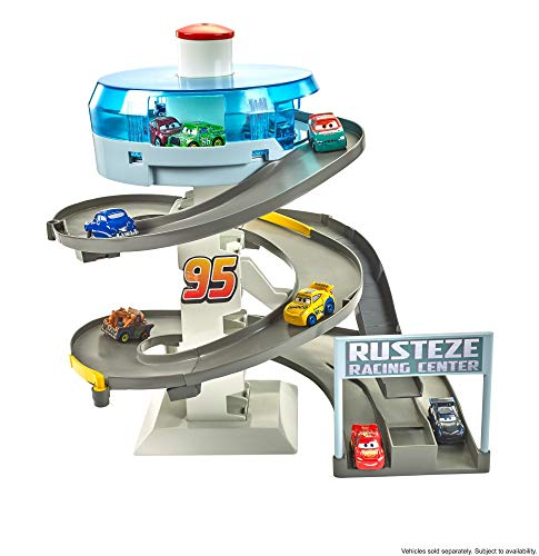 Disney Pixar Cars Mini Racers Rust-Eze Spinning Raceway