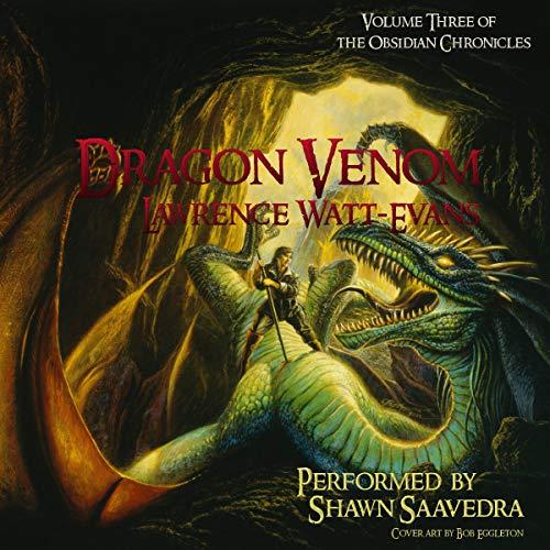 Dragon Venom audiobook cover art