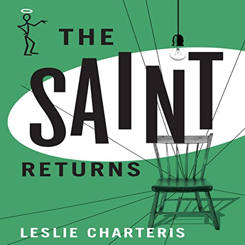 The Saint Returns audiobook cover art