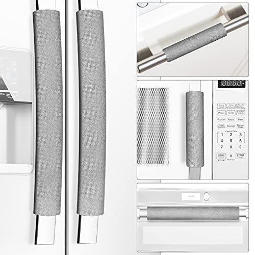 Miss.Silk - Juego de 5 fundas para manija de puerta de frigorífico, mantiene tu aparato de cocina limpio de manchas, goteos, manchas...