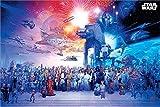 Star Wars Universe Unisex Poster Mehrfarbig Papier 61 x