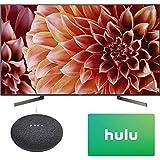 Sony XBR55X900F 55-Inch 4K Ultra HD Smart LED TV (2018 Model) with Google Home Mini (Charcoal) + Hulu $25 Gift Card (Electronics)