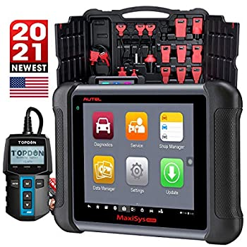 Autel MaxiSys MS906 Diagnostic Scanner 2021 Newest All System Diagnostics with Battery Tester Coding Bi-Directional Control 31 Services ABS Bleeding IMMO SAS EPB Same as Maxisys MS906BT MS908
