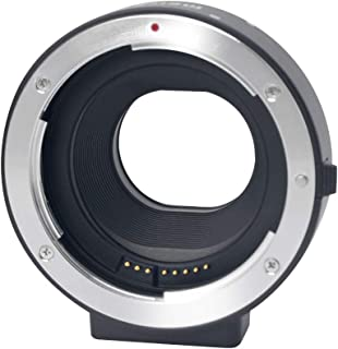 Mcoplus MK-C-AF4 Electronic Auto-focus EOS M Mount Adapter for Canon EF/EF-S D/SLR Lens to Canon EOS M (EF-M Mount Adapter) Mirrorless Camera Body,Fit EOS M100 M50 M6 M5 M3 M2 M1