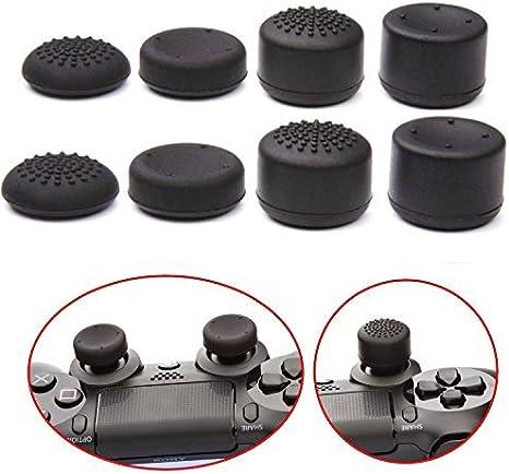 Pandaren® thumb grip caps joystick 8 unidades profesionales Pack para PS2, PS3, PS4, Xbox 360, Wii U, Switch PRO mando