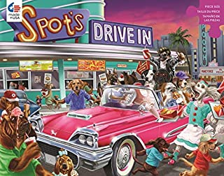 Paws & Claws - Spot's Drive-in Puzzle - 300 Pieces