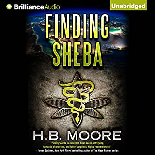 Finding Sheba audiobook cover art