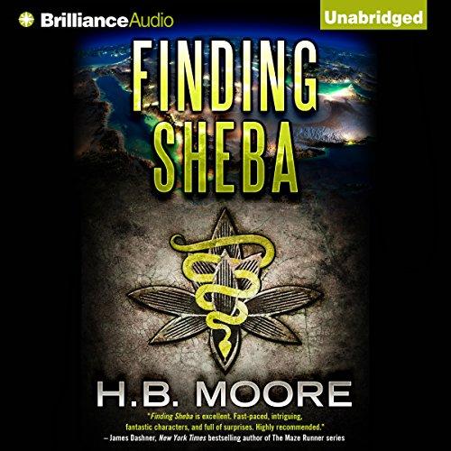 Finding Sheba audiobook cover art
