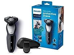 Philips S5290/12 Elektrische nat en droog scheerapparaat serie 5000 met MultiPrecision bladen, precisietrimmer*