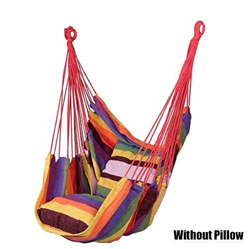 ERTYUI hangmat schommelstoel, hangstoel schommelstoel stoel zitplaats reizen camping opknoping voor buiten tuin volwassenen kinderen