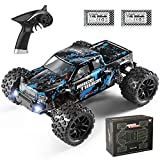 HAIBOXING RC Voiture Rampage, 1/18 4x4 Monster Trucks avec 36+ km/h Haute Vitesse, RTR All Terrain Waterproof Vehicle Monster Truck, RC Toys Cadeaux pour Enfants Et Adultes