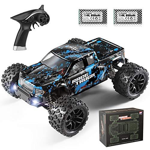 HABOXING Ferngesteuertes Auto18859, 1/18 4WD Offroad RC Cars 36 km/h RTR Schnell Geschwindigkeit Wasserdicht Fahrzeug, RC Spielzeuggeschenken für Kinder und Erwachsene