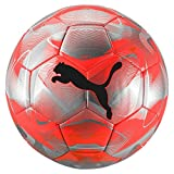 PUMA Future Flash Ball Ballon De Foot Mixte Adulte, NRGY Red-Silver-Grey Dawn Black,...