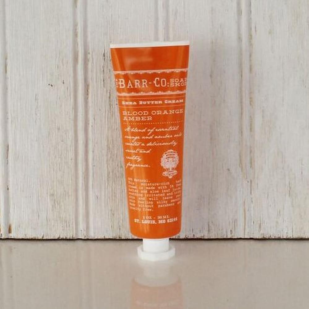サミット獲物安全なBARR-CO.(バーコー) ミニハンドクリーム オレンジアンバー