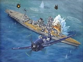 PhotoSight Grumman F6F Hellcat Aircraft WW2 Military Painting 32x24 Print Poster