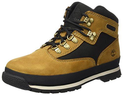 Timberland Unisex-Kinder Euro Hiker Chukka Boots, Braun (Trapper Tan), 34 EU