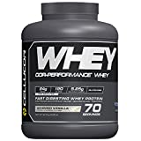 Cellucor COR-Performance Powder Whipped | 100% Gluten Free + Low Fat Post Workout Muscle Growth Drink for Men & Women | 70 Servings, Protein, Vanilla, 4.89 lbs, 80 Oz