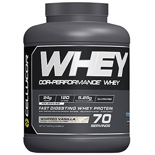 Cellucor COR-Performance Protein Powder Whipped Vanilla 5lb. | 100% Gluten Free + Low Fat Post...