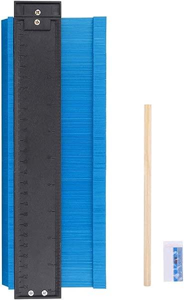 Panzisun Contour Gauge Duplicator With Pencil Eraser 10 Inch Profile Shape Copying Tool Pots Making Easy Cutting