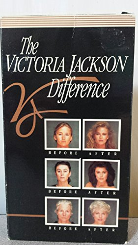 The Victoria Jackson Difference [VHS] Makeup Artist Before After