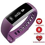 TEZER R5 Fitness Armbanderuhr Smartwatch mit Pulsmesser Aktivitätstracker Schrittzähler Fitness