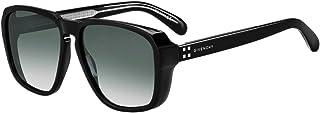 Givenchy GV7121/S 807 Black GV7121/S Square Sunglasses Lens Category 3 Size 60m
