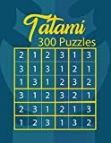 Tatami 300 Puzzles: Japanese Puzzle Book | Square Grid Puzzle Sheet | Logic Puzzle Notebook
