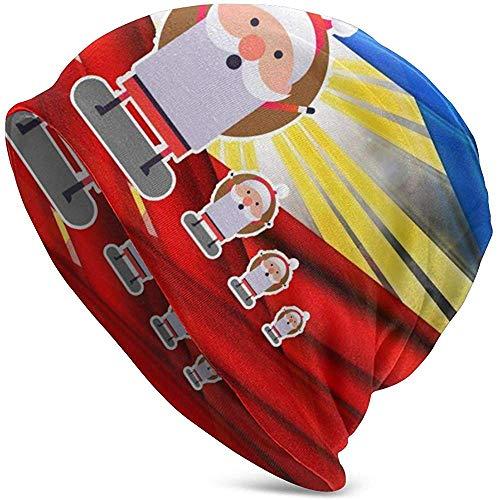 GodYo Creatieve filipino's kleur kerstmuts hoed lichte baggy slouchy elastische turban voor mannen en vrouwen hoofdwraps