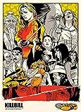 Wandsticker Quentin Tarantino Film-Poster-Qualitäts-Pulp