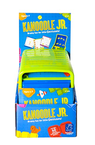 Educational Insights Kanoodle Jr. Game, Ages 4 and Up, 60 Puzzles in Each Game, Large Pieces for Smaller Hands, (Pack of 10 Games)
