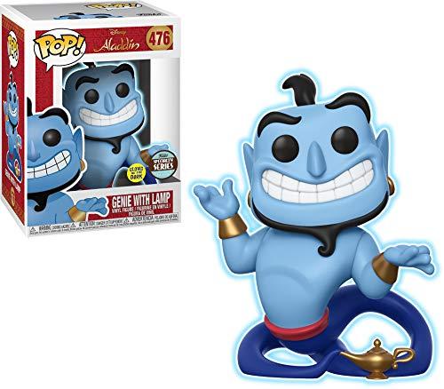 Funko- Genio con lámpara Disney Aladdin Figura de Vinilo, Multicolor, 35759